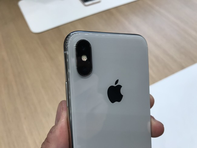 Trasera de cristal iPhone X