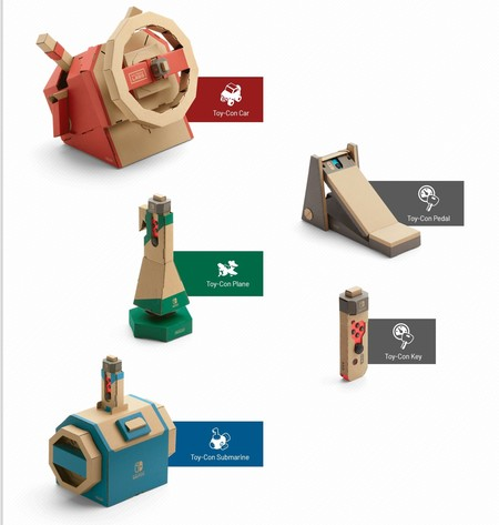 Nintendo Labo Kit Vehiculo 02