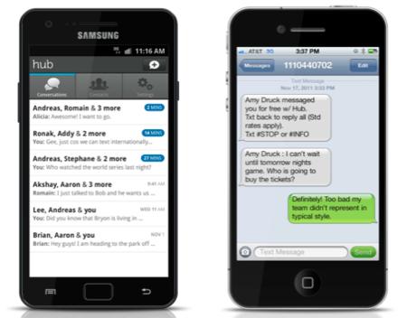 Yahoo Hub, otra gran compañía se apunta a las aplicaciones de mensajería instantánea