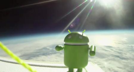 El primer móvil en órbita será un Android