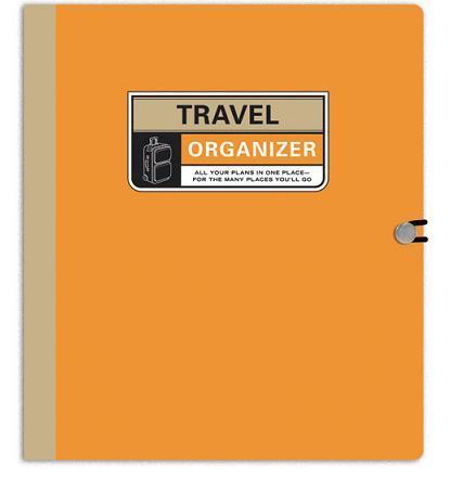 Travel Organizer, carpeta para planificar tu viaje