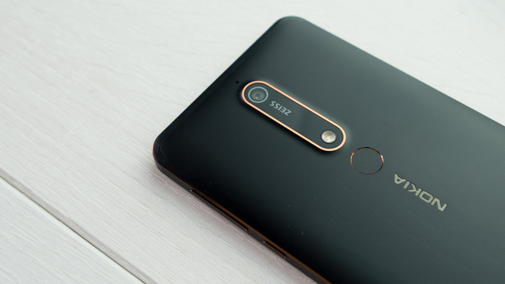 The Nokia 6.1 begins to upgrade to Android 9 Foot