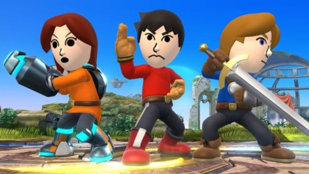 Smash Bros Mii Fighters