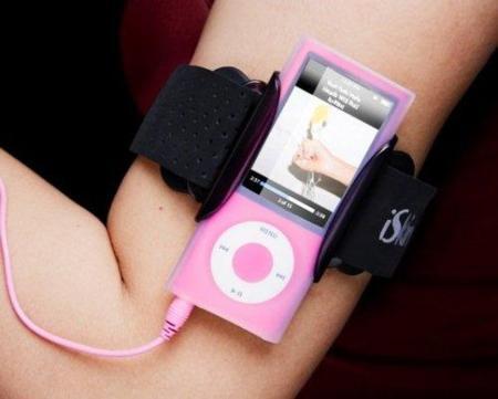 iSkin, nuevo brazalete para el iPod Nano 5G con protección antimicrobios