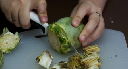 Trucos para que los niños coman de todo - ingrediente prohibido - alcachofa