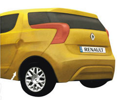 Renault Twingo ZE Clay Model