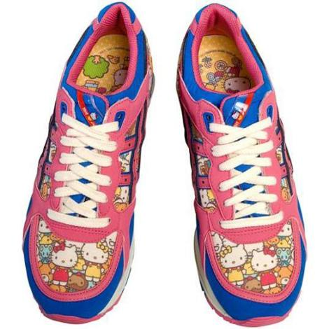 Zapatillas Asics de Hello Kitty