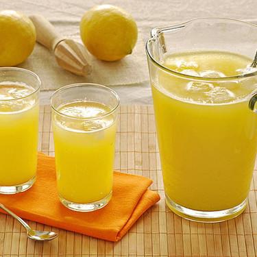 Receta de limonada de piña con un toque de jengibre, refrescante y digestiva