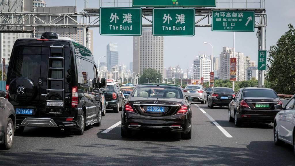 Mercedes-Benz ya enfrenta su Clase S autónomo a los retos del tráfico en China