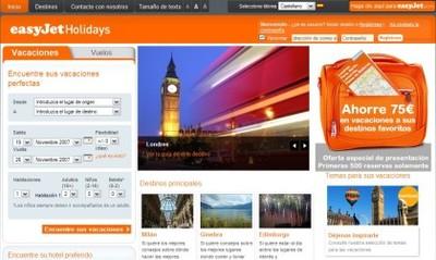 easyJet Holidays: nuevo servicio de easyJet