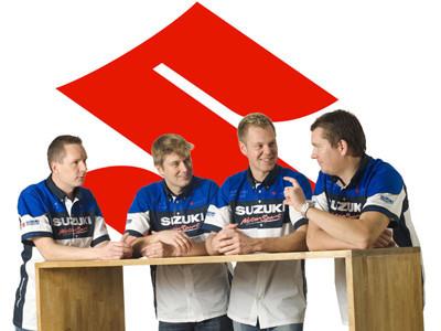 Suzuki confirma sus pilotos para 2008