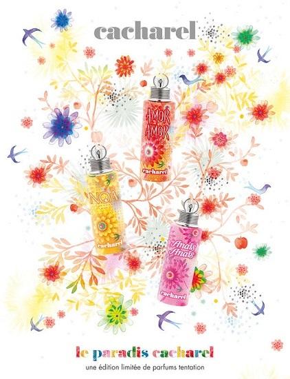 Cacharel presenta sus ediciones limitadas para este verano 2012: Le Paradis