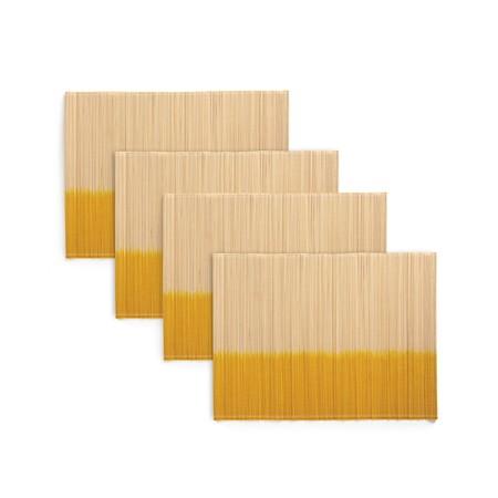 Lote de 4 manteles individuales de Bambú por 9,09 euros en La Redoute
