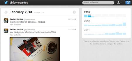 Sencillo truco para habilitar la descarga de nuestros tweets en Twitter