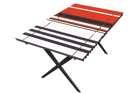 Original sistema para tener una mesa tricolor