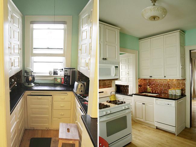 Antes y despu s transformando la cocina sin cambiar los - Cambiar azulejos cocina ...