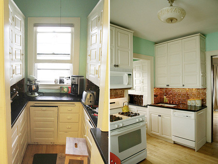 Antes y después: transformando la cocina sin cambiar los muebles