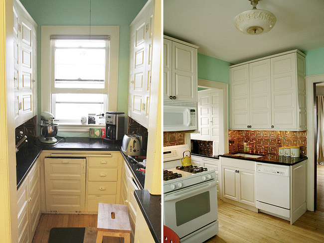 Antes y despu s transformando la cocina sin cambiar los muebles - Cambiar la cocina ...