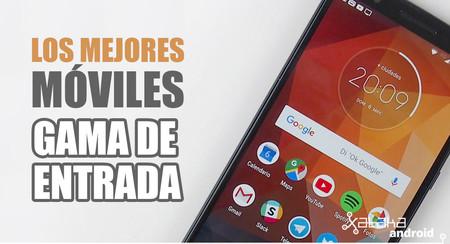 Los mejores móviles Android de gama de entrada de 2018