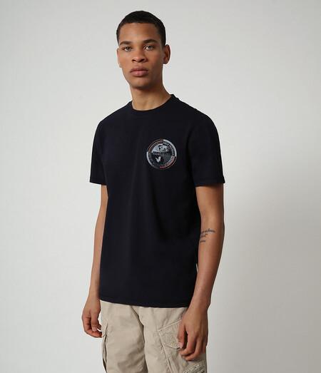 Camiseta Negra Napapijiri