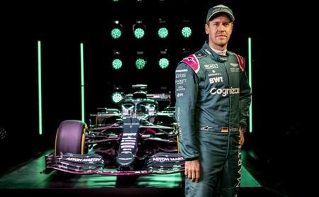 Vettel Aston Martin F1 2021