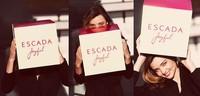 Miranda Kerr imagen del nuevo perfume de Escada