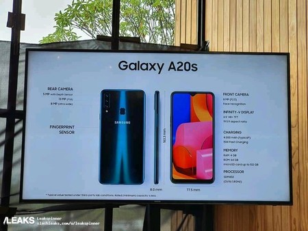 Galaxy A20s Specs