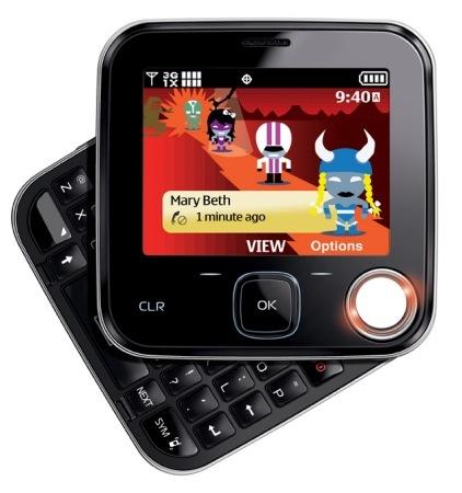 Nokia 7705 Twist es perfecto para mensajería