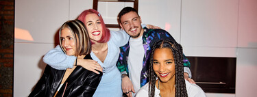 Bershka celebra la Navidad 2020 con sus empleados, el alma de la firma, en una nueva campaña repleta de estilo