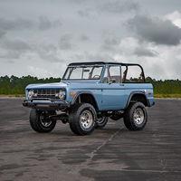 El Ford Bronco pasó por las manos de Velocity Restorations y este fue el resultado