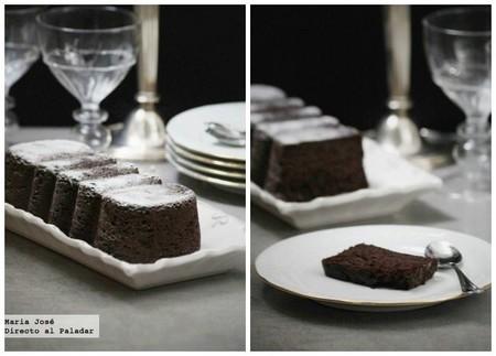 Bizcocho de garbanzos y chocolate con nueces: receta con Thermomix