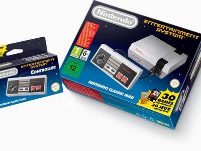La NES Mini regresará a las tiendas en 2018 y la SNES Mini contará con más unidades