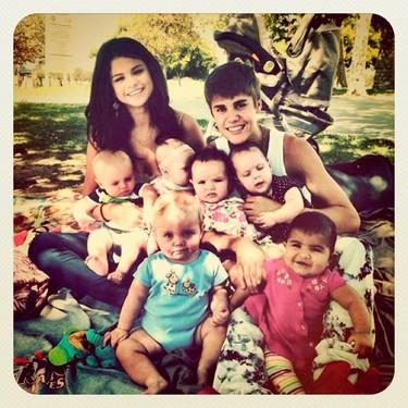 Selena Gomez y Justin Bieber, los Brangelina del futuro... WTF!