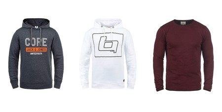 Semana del Black Friday en Amazon: sudaderas para hombre Blend, iSolid, Jack & Jones o Indicode rebajadas hasta un 30%