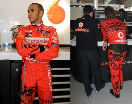 McLaren y Hugo Boss celebran sus 30 años juntos con nuevos monos para Lewis Hamilton y Jenson Button