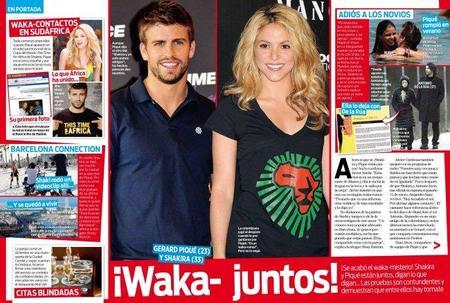 Al final va a ser que los waka-rumores son ciertos: Shakira y Piqué están juntos