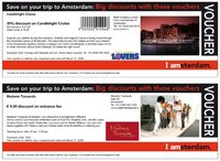 Imprime tus ofertas especiales para Ámsterdam