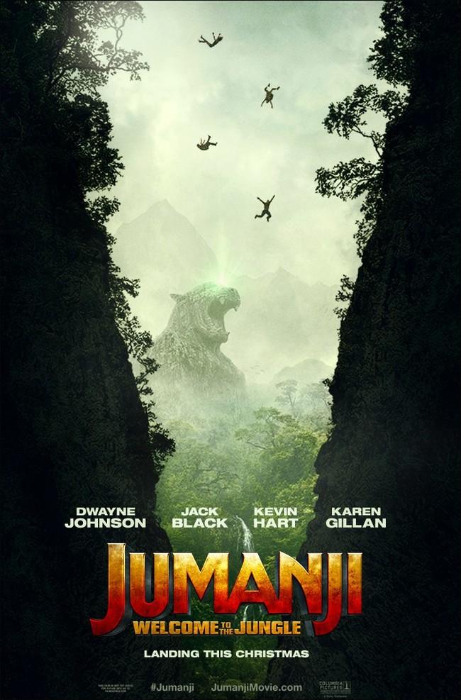 Cartel de Jumanji: Bienvenidos a la jungla