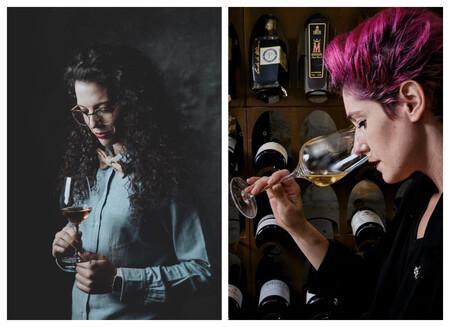 Virginia Garcia Y Paula Menendez Creadoras De In Wine Veritas