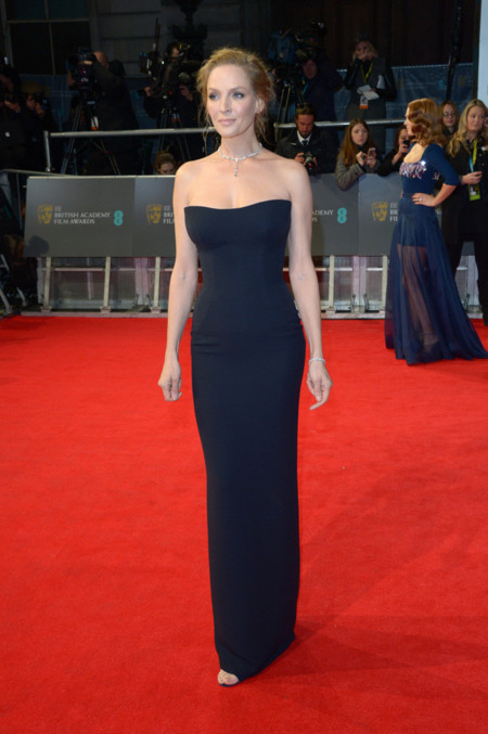Uma Thurman BAFTA 2014