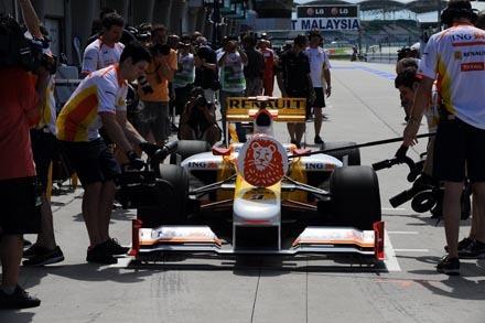 Fernando Alonso tendrá que conformarse con luchar por los puntos