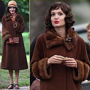 El look a los años 20 de Angelina Jolie