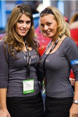 Chicas CES 2007