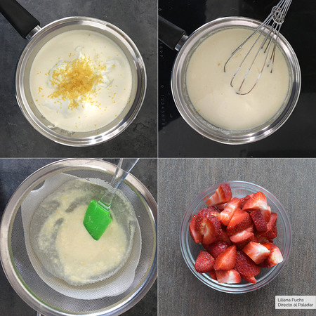 Crema Limon Fresas Pasos