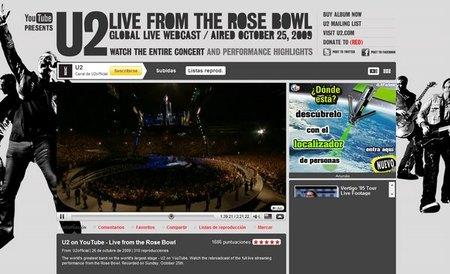 Lección de Youtube a las discográficas de la mano de U2