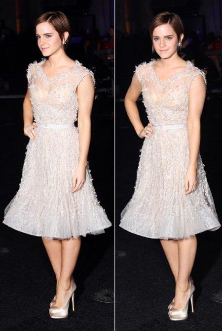 Emma Watson Elie Saab vestido
