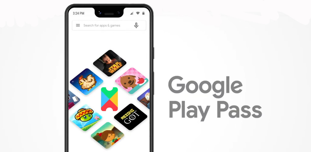 Google Play Pass it's official: more than 350 apps and games without ads for $  4.99 per month