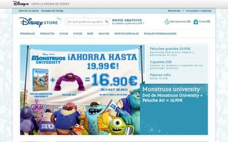 Ya se puede comprar en España por Internet en Disney Store