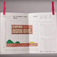 Los inicios analógicos de 'Super Mario Bros': cuando los videojuegos se dibujaban píxel a píxel en papel gráfico