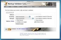 Validator SAC: Aplicación para validar webs según el estándar HTML sin estar conectado